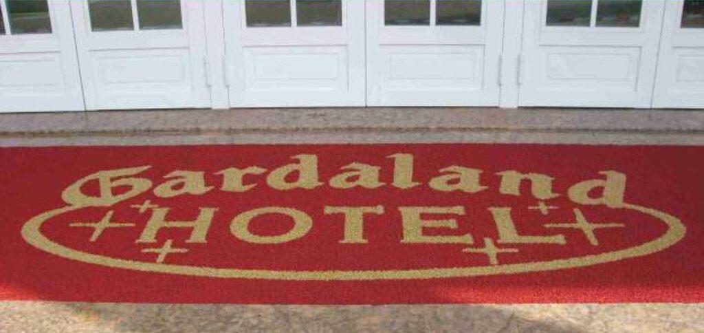 alfombra rizo de vinilo personalizada