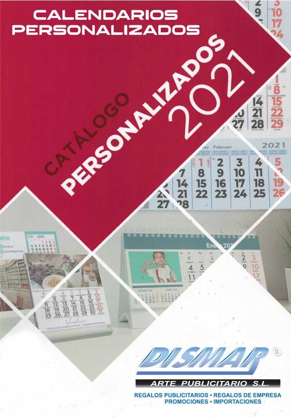 catalogo calendarios personalizados dismar